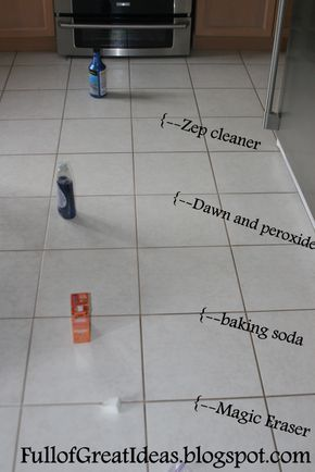 The Absolute Best Way To Clean Grout 4 Methods Tested 1 Clear Winner Grout Cleaner Cleaning Hacks Cleaning Techniques