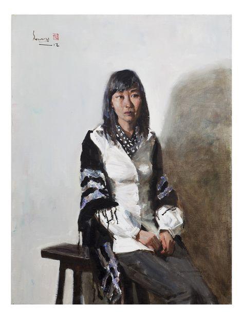 최선미 Choi,sunmi 자화상  15호F  Acrylic on Canvas