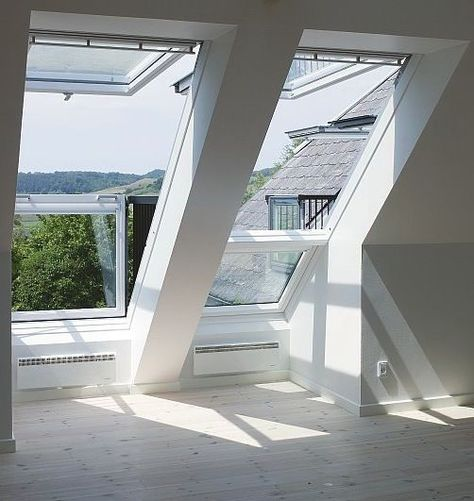 Skylight balcony