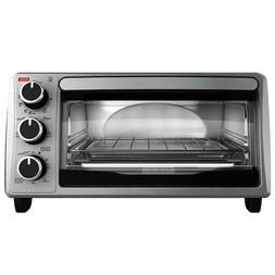 Black And Decker Electric Kitchen Broil Toaster Oven 4 Slice Stainless Steel Toaster Oven Toaster Decker