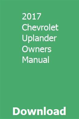 2017 Chevrolet Uplander Owners Manual Mitsubishi Eclipse Gt