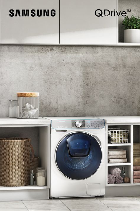 Stylish And Smart The Quickdrive Washing Machine Suits All Aspects Of Family Life In 2020