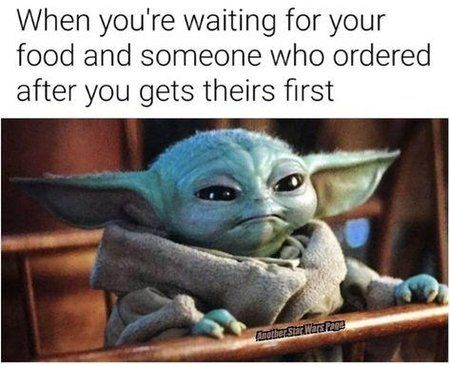 The Mandalorian S Baby Yoda Is One Of The Most Popular Characters Online And In Memes We Take A Look At The Best F Yoda Funny Yoda Meme Funny Star Wars Memes