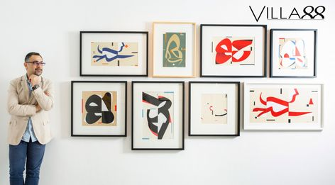Dubai-Based Artist Wissam Shawkat Is Defining A New Era In Calligraphy – Villa88live