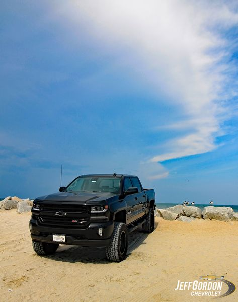 Enjoying The View By The Pier At Carolina Beach Nc In Our Lifted Silverado Jeff Gordon Chevrolet With Images New Silverado Silverado Chevrolet