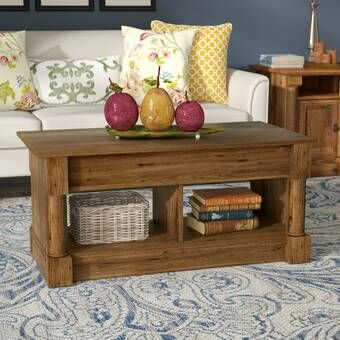 Macsen Edwards Lift Top Coffee Table With Storage