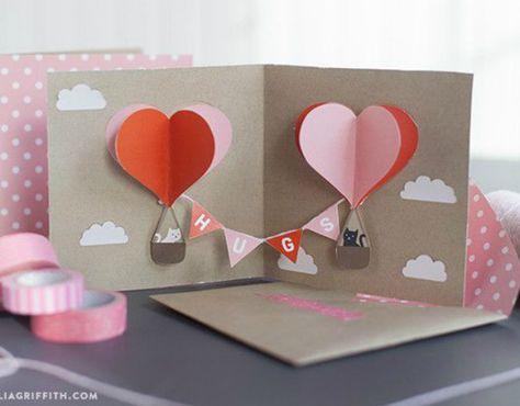 Cartão para Dia dos Namorados: 36 Ideias Criativas + Passo a Passo | Revista Artesanato