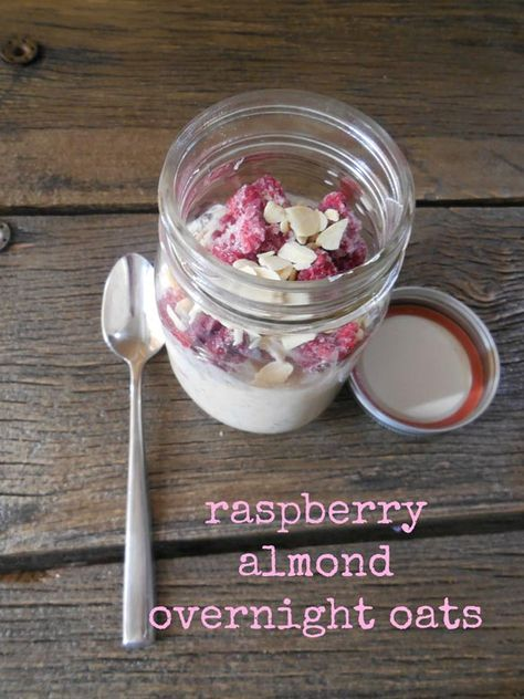 Looking for new, tasty ways to enjoy overnight oats? Try this raspberry almond recipe (and don't miss the other two we're sharing in the same post)! Breakfast this summer just got super simple and so delicious.
