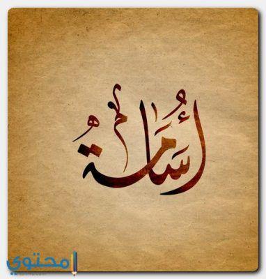 معنى اسم أسامة وصفاتة الشخصية Osama معاني الاسماء Osama اسامة Arabic Calligraphy Calligraphy Name Calligraphy Name Art