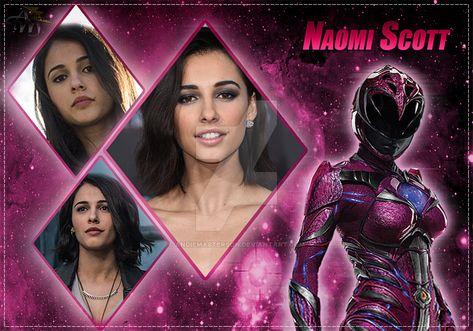 Naomi Scott (Pink Ranger) by AndieMasterson on DeviantArt