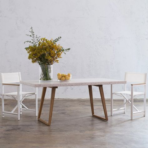 Terrazzo Homewares Roundup Dining Table Concrete Dining Table