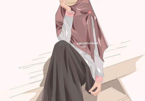 Gambar Kartun Wanita Rambut Panjang 23 Gambar Kartun Islami Wanita Bercadar 1000 Gambar Kartun Muslimah Cantik Bercadar Kacamata Download Gambar Wanita Berhijab Kart Di 2020 Kartun Wanita Komik Anak