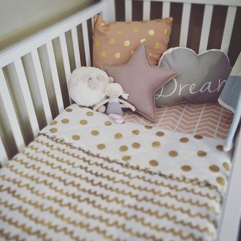 Modern Crib Bedding - Blush Chevron Crib Sheet - Modern Girl Nursery by ModFox on Etsy
