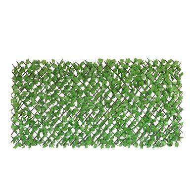 Un Real 200 X 100cm Artificial Light Green Ivy Hedge Expanding Trellis In 2020 Expanding Trellis Green Ivy Indoor Herb Garden Diy