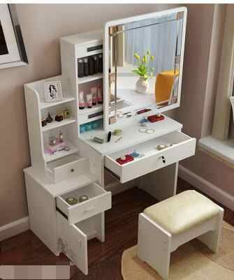 Makeup Cabinet Table The Multi Function European Makeup Chair Chair Chair Chairschair Makeup Aliexpress Bedroom Vanity Set Bedroom Vanity Vanity Design