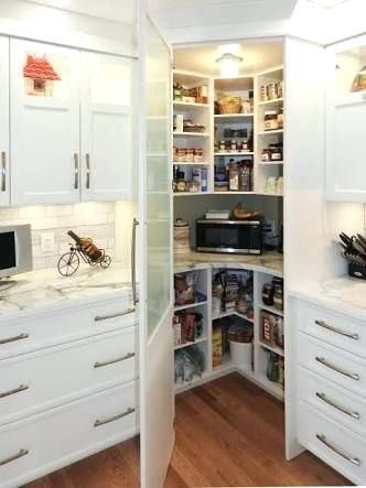 Kitchen Pantry Ideas Corner