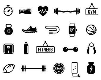 Plank Training Variations Exercise Poses Postures Strength Training Workout Fitness Gym Digital Download Icons Sign Symbol Png Svg Vector Clip Art Silhouette Images Gym
