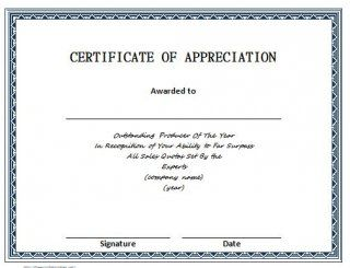 Download Certificate Of Appreciation 06 Certificate Of Appreciation Certificate Templates Letter Template Word