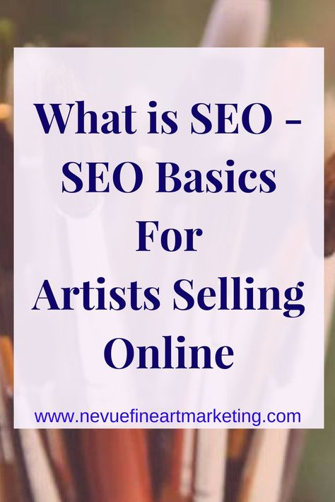 SEO Tips For Artists
