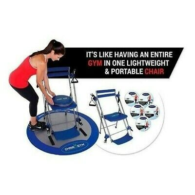 Ad Ebay Chair Gym Total Body Workout Chair Gym Deluxe With Twister Seat In 2020 Total Body Workout Fitness Body Gym