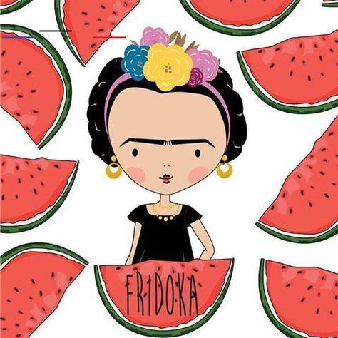 Frida Kahlo (Fridoka)   Viva la vida  #fridakahlo #fridoka #frida #kahlo #casaazul #vivalafrida#arte #painting #art #illustration #illustrator #the100dayproject #cute #love #artist #design #agostodoartista #mngds1<br>