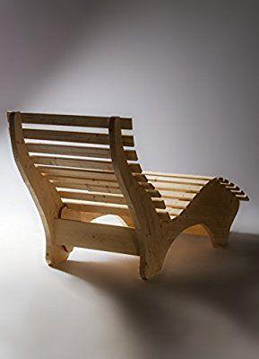 Amazon De Tuga Holztech Naturholz Massive Wetterfeste Extrem Stabile Luxus Relaxliege Massivholzliege Liege Formliege12 Diy Mobel Holz Relaxliege Urbane Mobel