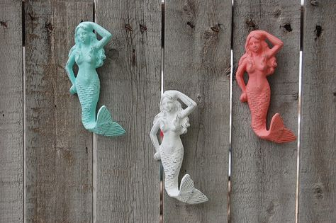 Beach shabby chic mermaids