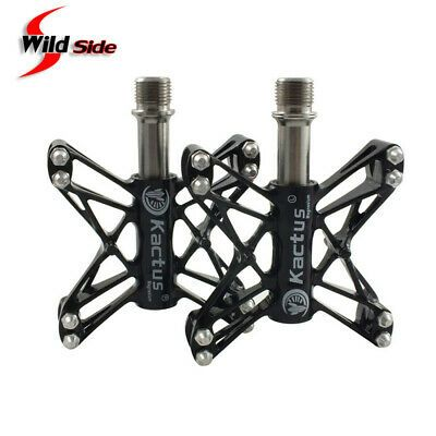 Details About New Titanium Axle Bicycle Anti Slip Pedals Mtb Road
