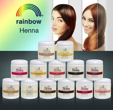 Rainbow Henna Hair Color Henna Hair Color Rainbow Henna Henna Hair