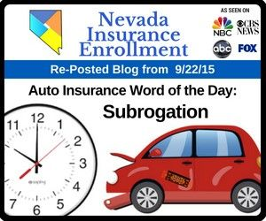 Auto Insurance Word Of The Day Subrogation Car Insurance Word