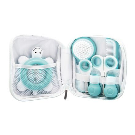 Set De Aseo Para Bebe Bebe Confort Blanco Azul Con Imagenes
