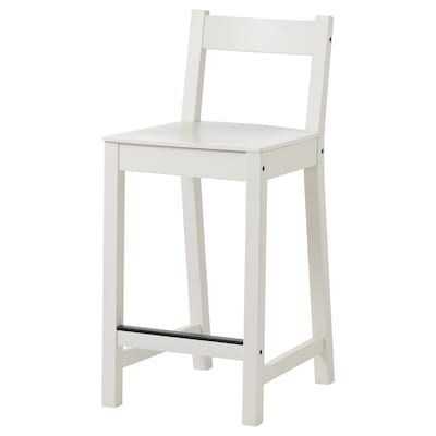 Ikea Nilsolle Birch Bar Stool In 2020 Bar Stools Upholstered