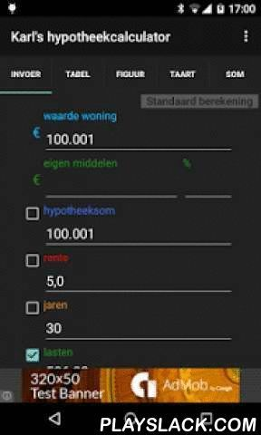 Mortgage Calculator Karls Mortgage Calculator Android App