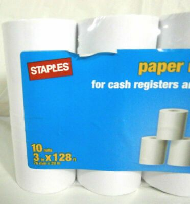 Sponsored Ebay Staples Brand Paper Rolls 3 X 128 10 Pack Pn 18211 Paper Paper Rolls Things To Sell