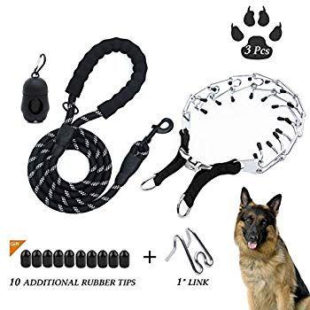 D Buy Dog Training Set Stainless Steel Dog Prong Collar Dog Pinch