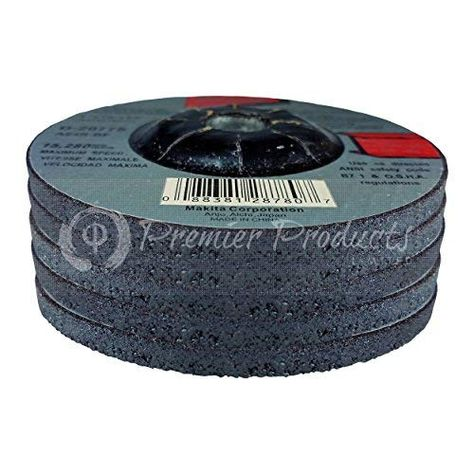 "Makita D-20775 4/"" Metal Grinding Wheel Pack of 5"