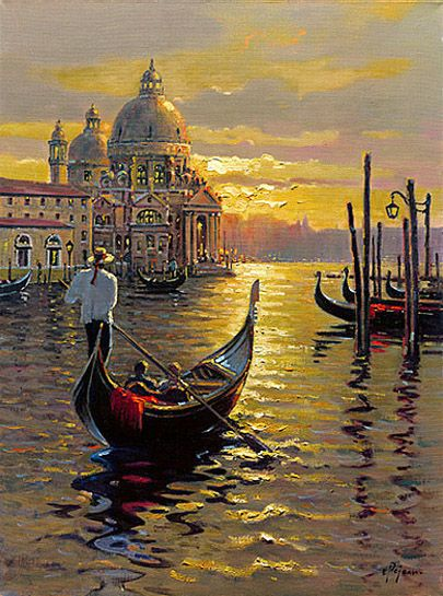 Venetian Sunset | Art of Bob Pejman