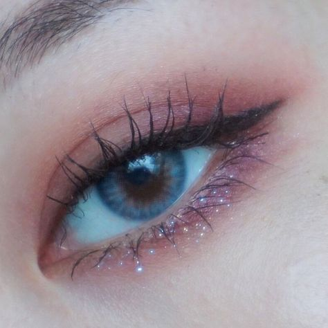 """History of eye makeup """"Eye care"""", in other words, """"eye make-up"""" happens to be Makeup Eye Looks, Cute Makeup, Pretty Makeup, Stunning Makeup, Korean Eye Makeup, Asian Makeup, Makeup Inspo, Makeup Inspiration, Soft Make-up"""