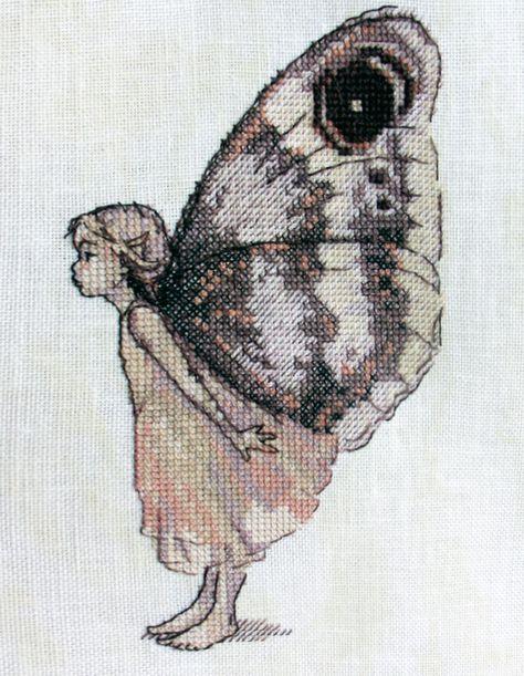 Вышивка схема бабочки скачать бесплатно фото 195