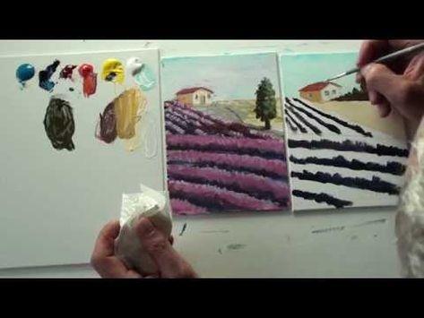 Malen Mit Acryl Romantische Kustenlandschaft Teil 2 2 Youtube