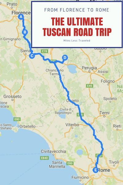 Tuscany Road Trip Itinerary Italy Road Trips Italy Travel Guide