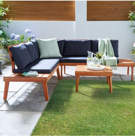 Aldi Is Selling A Super Chic Outdoor Sofa And We Need One In Our Garden Garden Sofa Set Garden Sofa Sofas For Small Spaces
