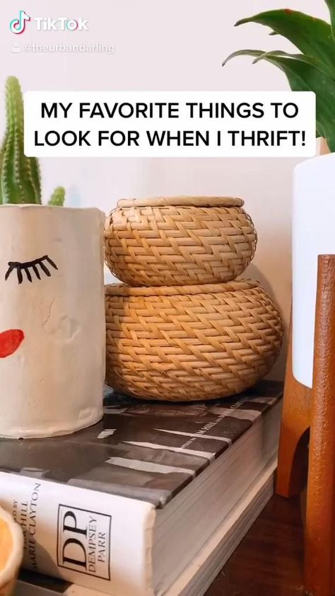 My favorite things to look for when I thrift! -  #thrift #homedecor #thrifting #thriftfinds #howto #diy   - #favorite #Thrift #Thriftedhomedecorapartmenttherapy #Thriftedhomedecorbedrooms #Thriftedhomedecorbeforeandafter #Thriftedhomedecorboho #Thriftedhomedecordiyideas #Thriftedhomedecorfleamarkets #Thriftedhomedecorfurnituremakeover #Thriftedhomedecorhouseholditems #Thriftedhomedecormodern #Thriftedhomedecorshabbychic #Thriftedhomedecorshoppingtips #Thriftedhomedecorupcycling #Thriftedhomedec