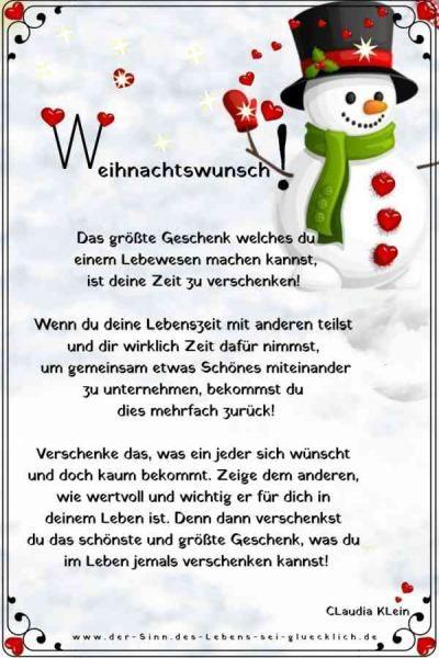 Der Sinn Des Lebens Sei Gluecklich De Merken Besinnliche Spruche Zu Weihnachten Weihnachtswunsche Gedicht Weihnachten