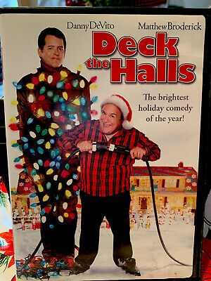 Deck The Halls Dvd 2007 Dual Side Funny Christmas Movie Danny Devito Used Funny Ebay In 2020 Best Christmas Movies Funny Christmas Movies Christmas Movies