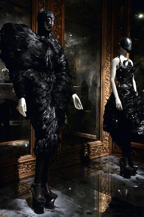 Alexander McQueen Savage Beauty exhibition at the V&A Museum   Harper's Bazaar