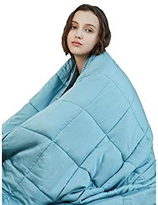 Amazon Com Ynm Cooling Weighted Blanket 100 Natural Bamboo