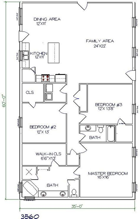 Barndominium Floor Plans 2 Story 4 Bedroom With Shop Barndominium Floor Plans Cost Open Concept Small Wi Barndominium Floor Plans House Plans Floor Plans