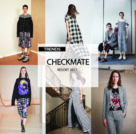 [ TREND REPORT ] WOMENS - CHECKMATE . RESORT 2017 #FashionTrendsSs17