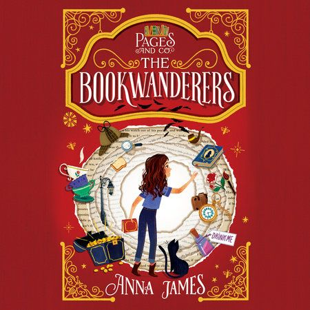 Pages Co The Bookwanderers By Anna James 9781984837141
